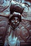 Woodwork Detaild в клиросе церков Стоковое Изображение
