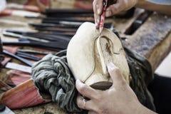Woodwork warsztat zdjęcia royalty free