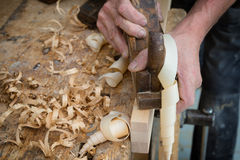Woodworker or carpenter Royalty Free Stock Photography