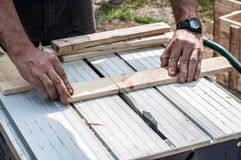 Woodworker Royalty Free Stock Image