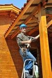 Woodworker três Fotos de Stock Royalty Free