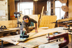 Woodworker Stock Images