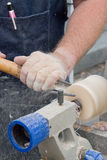Woodworkers hands Royalty Free Stock Image