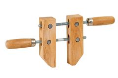 Woodworking clamp Stock Photo