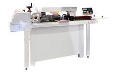 Woodworking edging machine Stock Photos