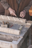 Woodworking Hand Stock Image