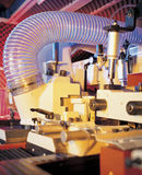 Woodworking Machine. Duct and parts of woodworking machine Royalty Free Stock Photos