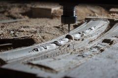 Woodworking mielenia maszyna Fotografia Royalty Free