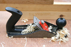 Woodworking plane Royalty Free Stock Images