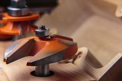 Woodworking Router Panel Cutter Royalty Free Stock Photo
