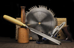 Woodworking Tools Stock Images