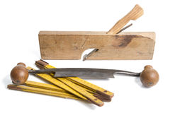 Woodworking Tools Stock Image