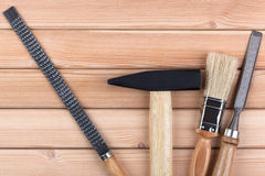 Woodworking tools. Stock Photo