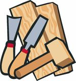 WoodworkingTools Stock Image