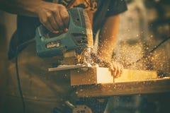 Woodworks Obrazy Stock