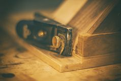 Woodworks Obrazy Royalty Free