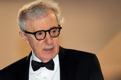 Woody Allen. Attends the Premiere of 'Irrational Man' during the 68th annual Cannes Film Festival on May 15, 2015 in Cannes, France royalty free stock image