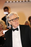 Woody Allen. Attends the Premiere of 'Irrational Man' during the 68th annual Cannes Film Festival on May 15, 2015 in Cannes, France Royalty Free Stock Photography