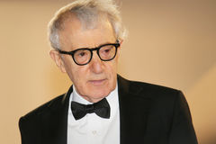 Woody Allen. Attends the Premiere of 'Irrational Man' during the 68th annual Cannes Film Festival on May 15, 2015 in Cannes, France Royalty Free Stock Photos