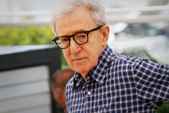 Woody Allen. Director Woody Allen attends the 'Irrational Man' photocall during the 68th annual Cannes Film Festival on May 15, 2015 in Cannes, France stock photo