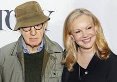 Woody Allen e Susan Stroman Fotografie Stock