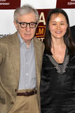 Woody Allen, Soon-Yi Previn arrives at the  Stock Images