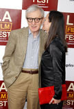 Woody Allen and Soon-Yi Previn Stock Photography
