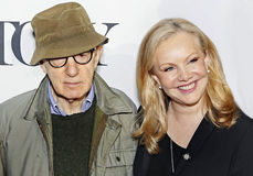 Woody Allen y Susan Stroman Fotos de archivo