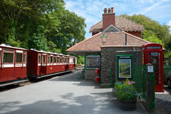 Woody Bay Station North Devon Großbritannien Stockfoto