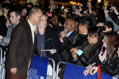 Woody Harrelson. Arriving for the premiere of Rampart, as part of the London Film Festival 2011, at the Vue West End, London. 15/10/2011 Picture by: Steve Vas Stock Photo