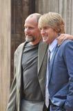 Woody Harrelson & Owen Wilson Imagens de Stock