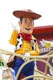 Woody in Hong Kong Disneyland stock photo