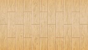 Woody oak texture. Vector illustration. Light brown wooden board. stock illustration