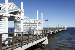 Woody Point Jetty Photos libres de droits