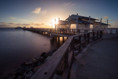 Woody Point Jetty Royaltyfri Fotografi