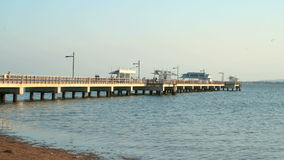 Woody Point Jetty Timelapse stock video footage