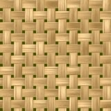 woody rattan wicker weave seamless pattern texture background Stock Image