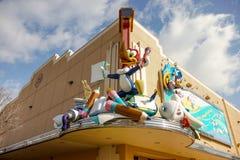 Woody Woodpecker an der Animations-Feier Stockfotos