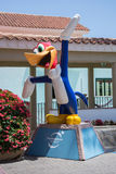 Woody Woodpecker Statue Image stock