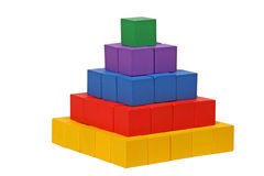 Wooen Puzzlespiel Stockfotografie