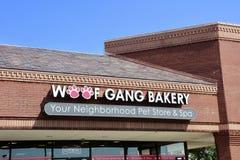 Woof Gang Bakery, Cordova TN. Your neighborhood pet store and spa Stock Image