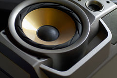 Woofer closeup Royalty Free Stock Image