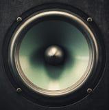 Woofer Speaker Closeup Stock Images