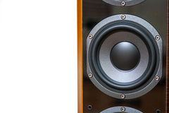 Woofer on speaker Stock Image