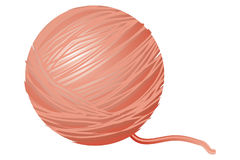 Wool. Art illustration of balls of wool Stock Image