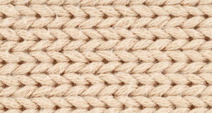 Wool. Knitted wool with interesting pattern Royalty Free Stock Photos