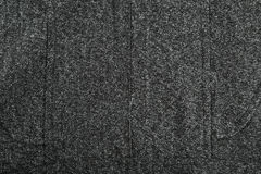 Wool background, close up, black Stock Photo