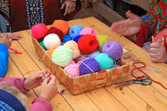 Wool ball Stock Photography