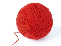 Wool ball Royalty Free Stock Images