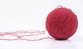 Wool ball Stock Image